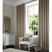 Shangtung Dark Cream Curtain