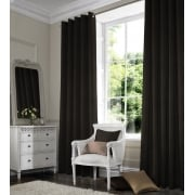 Shangtung Dark Grey Curtain