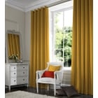 Shangtung Sunburst Yellow Curtain