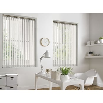 Shannon Cream 89mm Vertical Window Blind