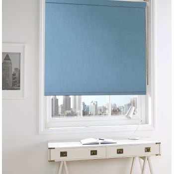 Spectrum Light Grey Fire Retardant Roller Window Blind