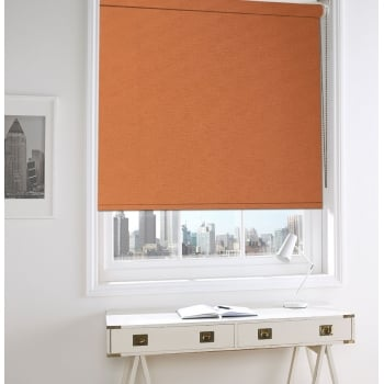 Sunburst Orange Bermuda Roller Window Blind