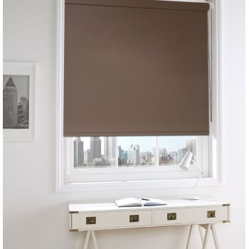 Sunset Chocolate Blackout Roller Window Blind