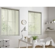 Sunset Cream 89mm Blackout Vertical Window Blind