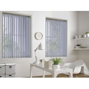 Sunset Light Grey 89mm Blackout Vertical Window Blind