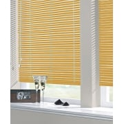 Sunset Orange 25mm Standard Aluminium Venetian Window Blind