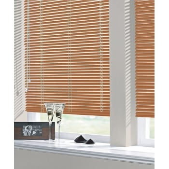 Terracotta 25mm Standard Aluminium Venetian Window Blind