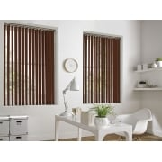 Terracotta Bermuda 89mm Vertical Window Blind