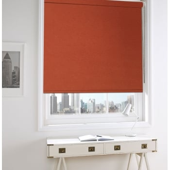 Terracotta Bermuda Roller Window Blind