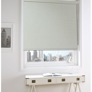 Uni Screen Beige Fire Retardant Blackout Roller Window Blind