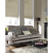 Vines Dark Beige Roman Blind