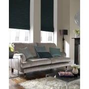 Vines Green Roman Blind