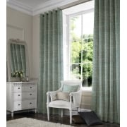Vines Light Teal Curtain