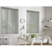 Weave-A-Tex Biscuit 89mm Vertical Window Blind