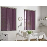 Weave-A-Tex Pink 89mm Vertical Window Blind