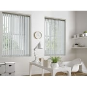 Weave-A-Tex White 89mm Vertical Window Blind