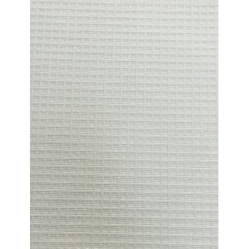 Weave-A-Tex White Roller Window Blind