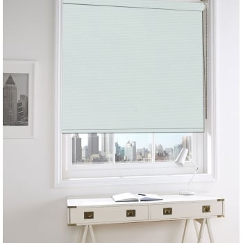 White Bermuda Blackout Roller Window Blind
