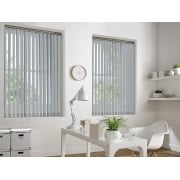 White Gold Bermuda 89mm Blackout Vertical Window Blind
