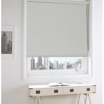White Gold Bermuda Blackout Roller Window Blind