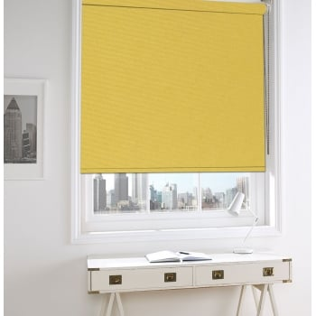 Yellow Bermuda Blackout Roller Window Blind